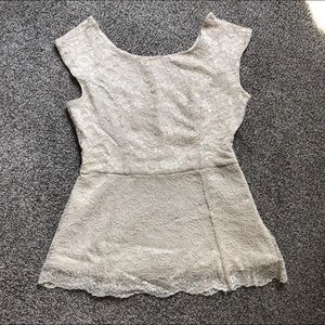 FOREVER 21 Lace Top Small